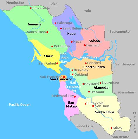Винодельческие регионы Калифорнии