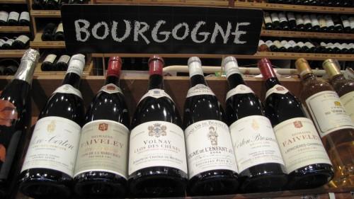Контролируемые наименования бургундских вин