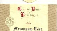 Marsannay Rose