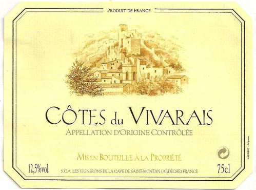 Cotes du Vivarais (Кот-дю-Виваре)