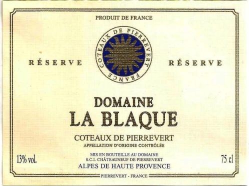 Coteaux de Pierrevert (Кото-де-Пьерревер)