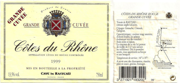 Cotes du Rhone (Кот-дю-Рон)