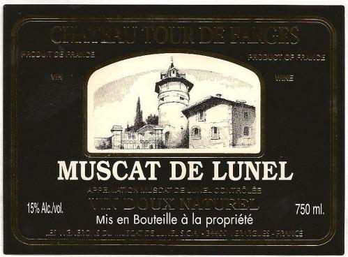 Muscat de Lunel (Мюска-де-Люнель)
