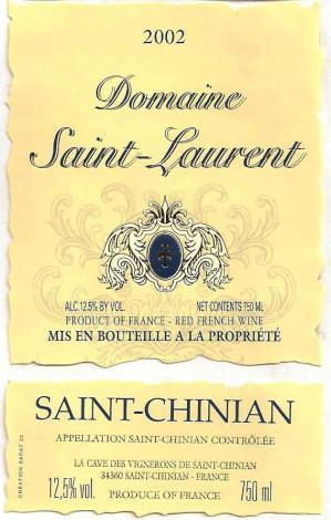Saint- Chinian (Сен-Шиньян)