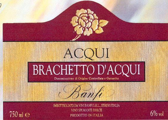 Brachetto d'Acqui или Acqui (Бракетто-д'Акви или Акви)