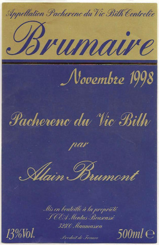 Pacherenc du Vic Bilh (Пашранк-дю-Вик-Биль)