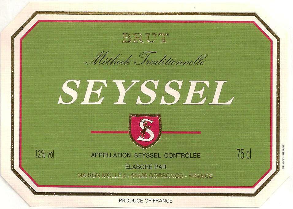 Seyssel Mousseux (Сессель-Муссе)